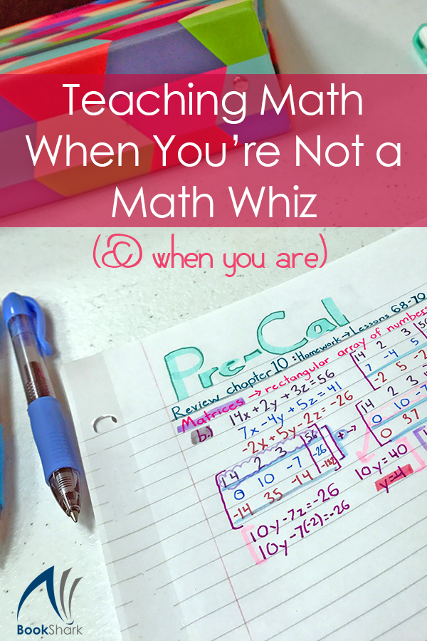 Teaching Math When You're Not a Math Whiz (& When You Are)