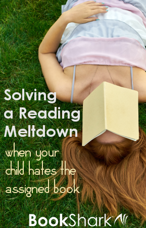Solving the Reading Meltdown When Your Child Hates the Assigned Book