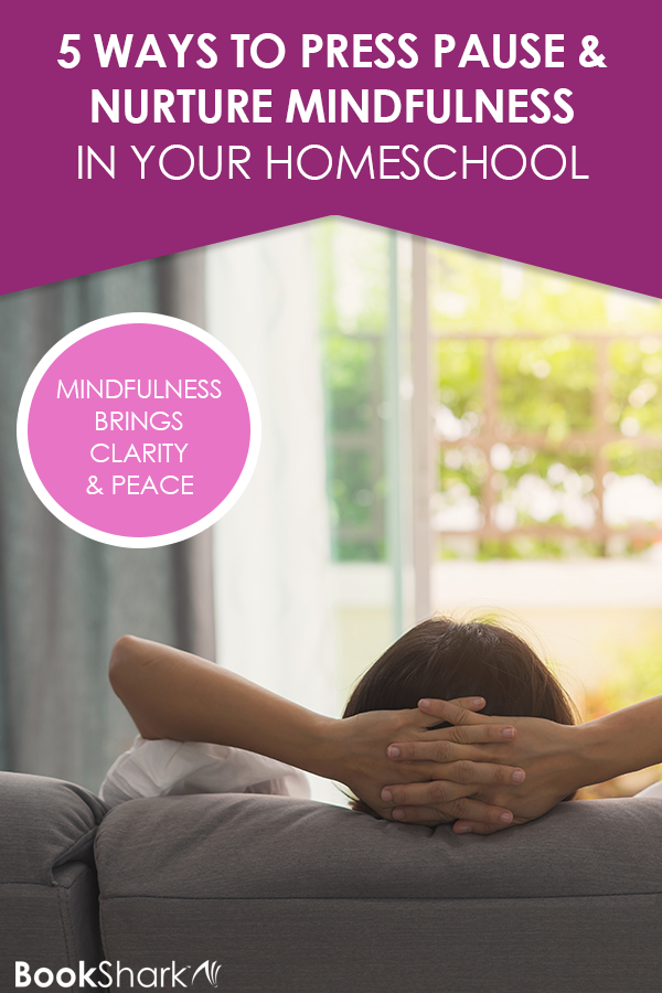 Five Ways to Press Pause and Nurture Mindfulness in Your Homeschool