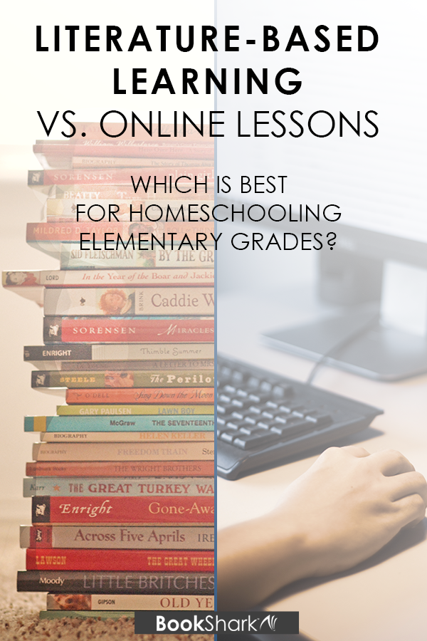 Literature-based Learning vs. Online Lessons for Elementary School