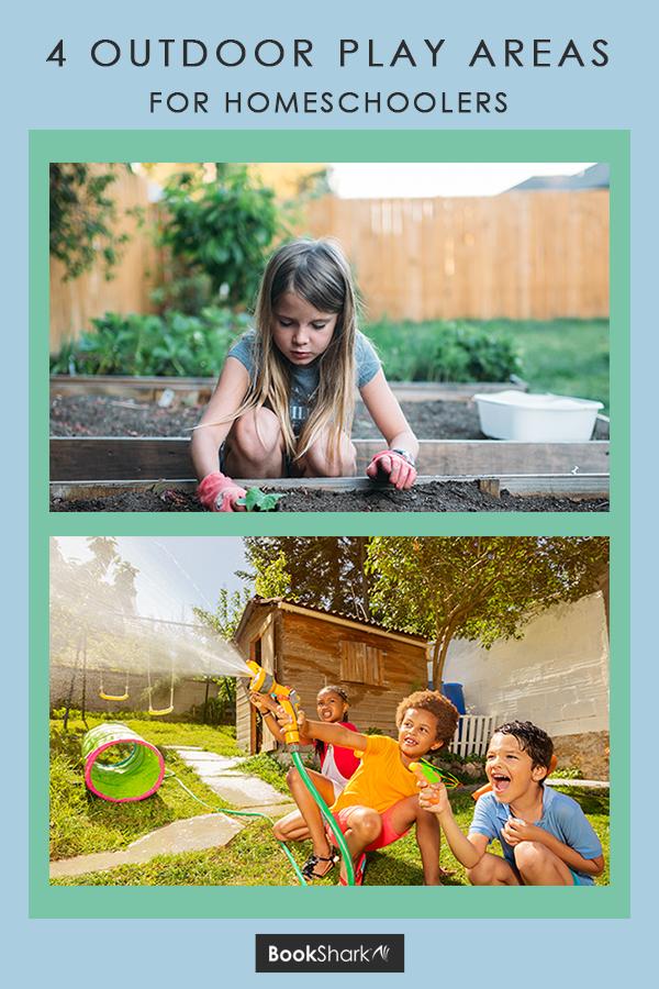 4 Outdoor Play Areas for Homeschoolers