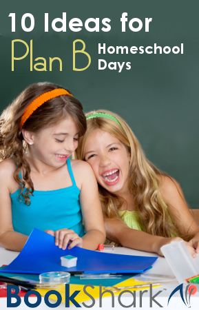 10 Ideas for Plan B Homeschool Days