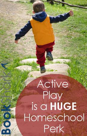 Active Play is a Huge Homeschool Perk