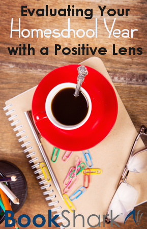 Evaluating Your Homeschool Year with a Positive Lens