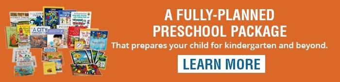Level Pre-K All-Subject Package │Ages 4-5