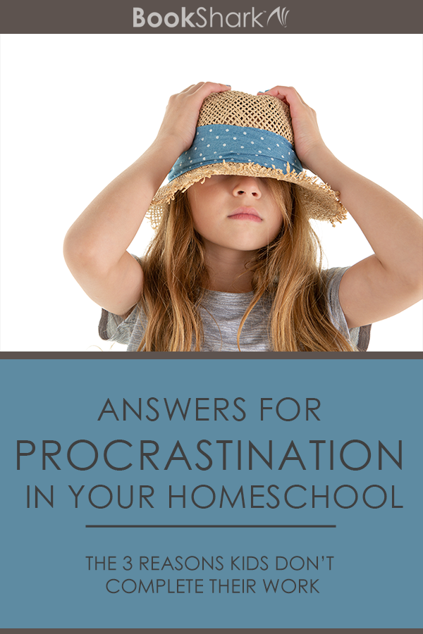 Answers for Procrastination in Your Homeschool