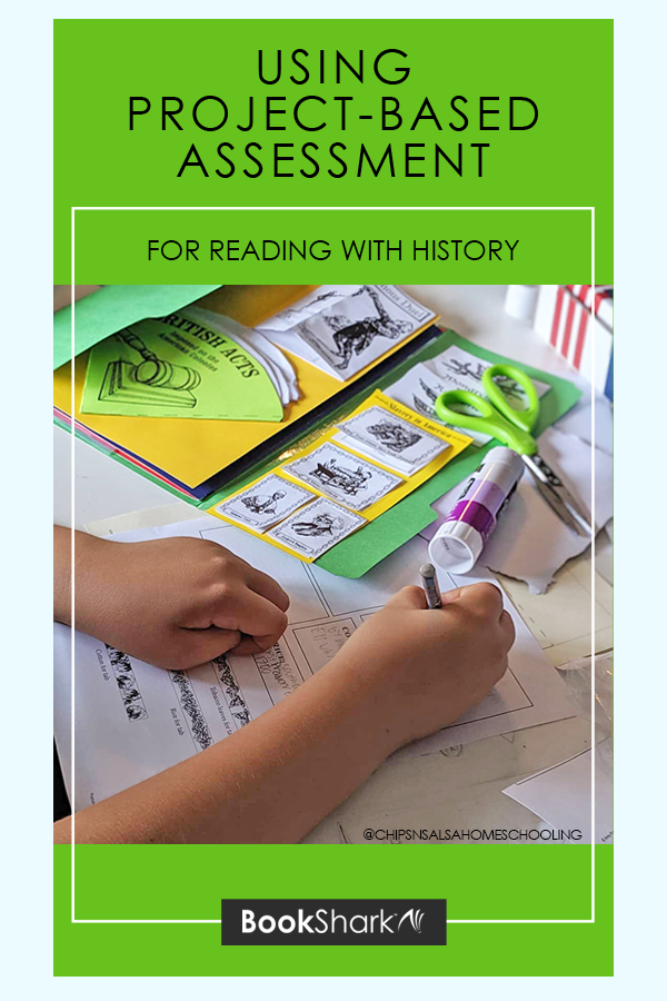 Using Project-based Assessment for Reading with History