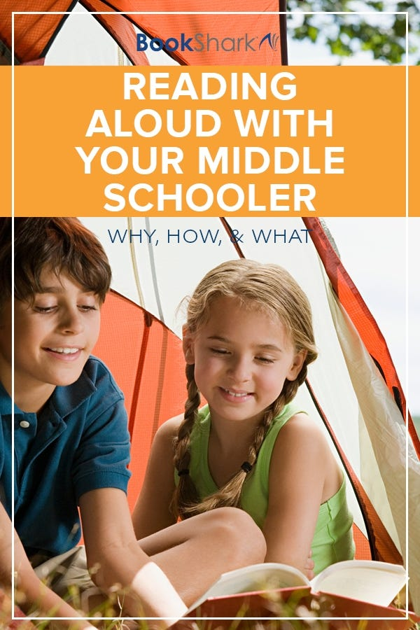 Reading Aloud with Your Middle Schooler: Why, How, and What