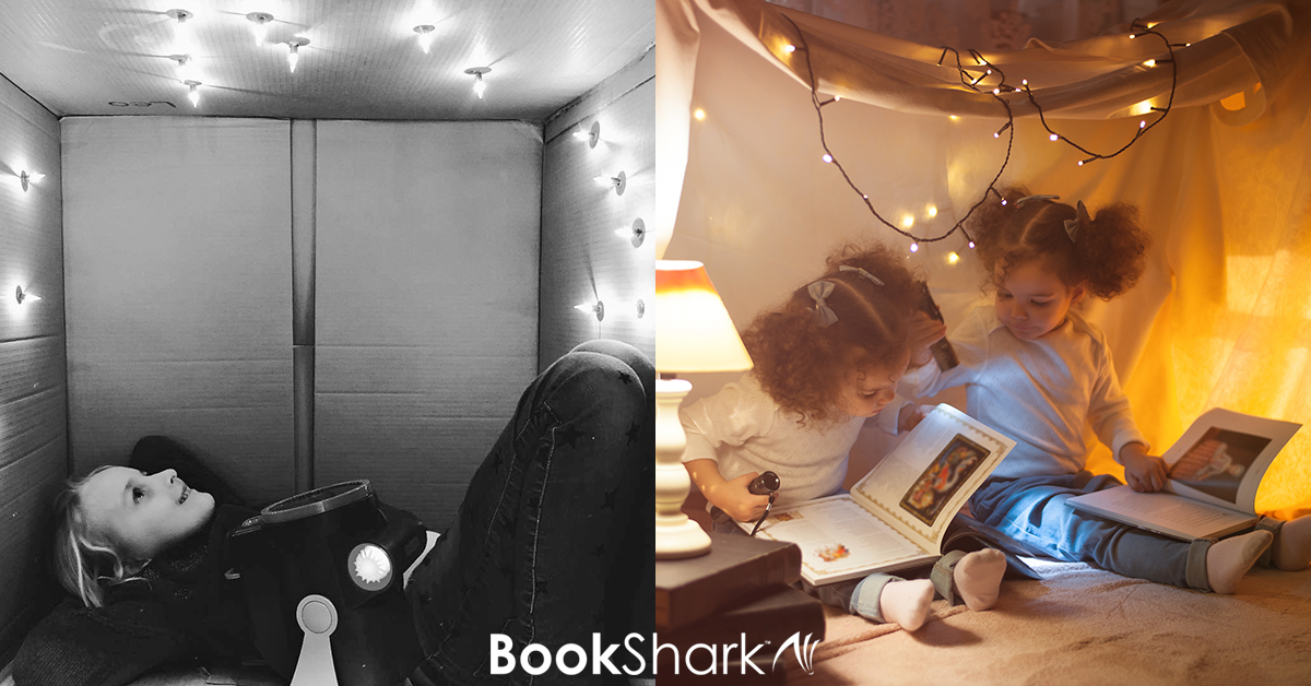 Build a Constellation Reading Fort: Make Reading an Adventure
