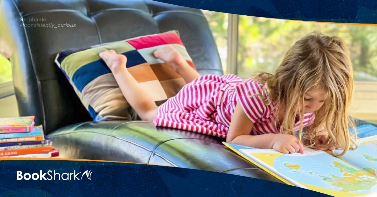 Homeschool Learning Spaces: The Reading Nook