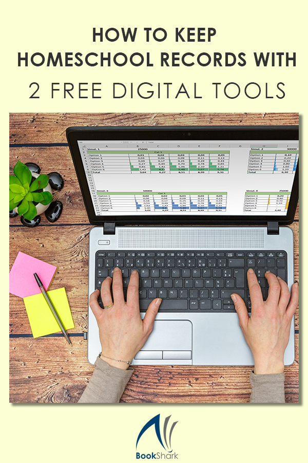 How to Keep Homeschool Records with 2 Free Digital Tools