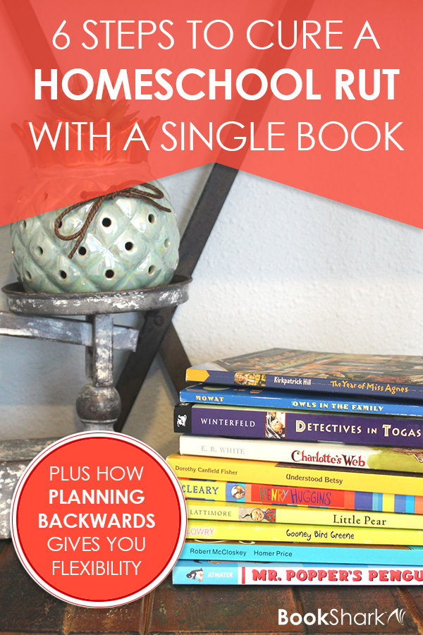 6 Steps to Cure a Homeschool Rut with a Single Book