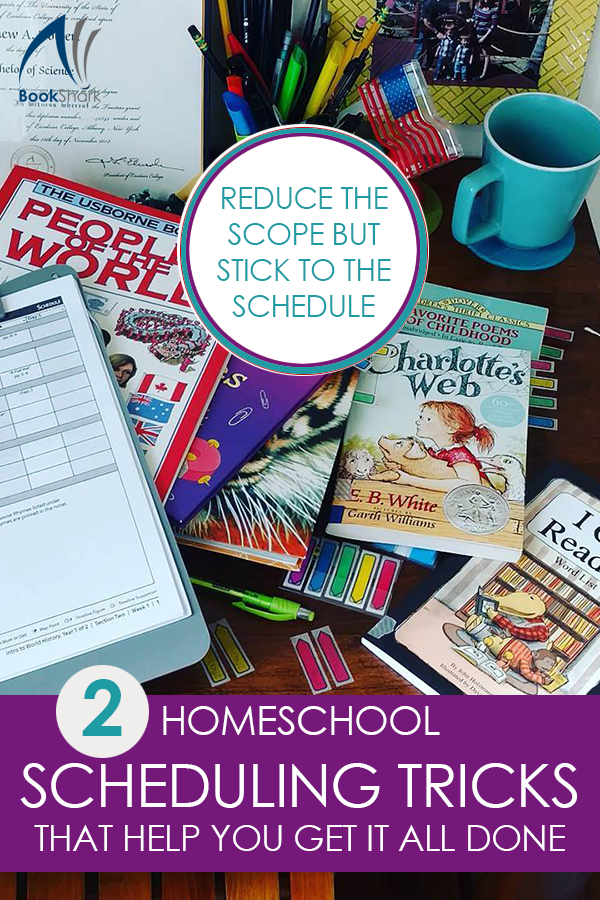 2 Homeschool Scheduling Tricks that Help You Get it All Done