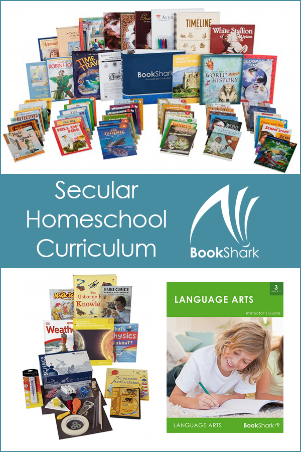 secular homeschool curriculum by BookShark