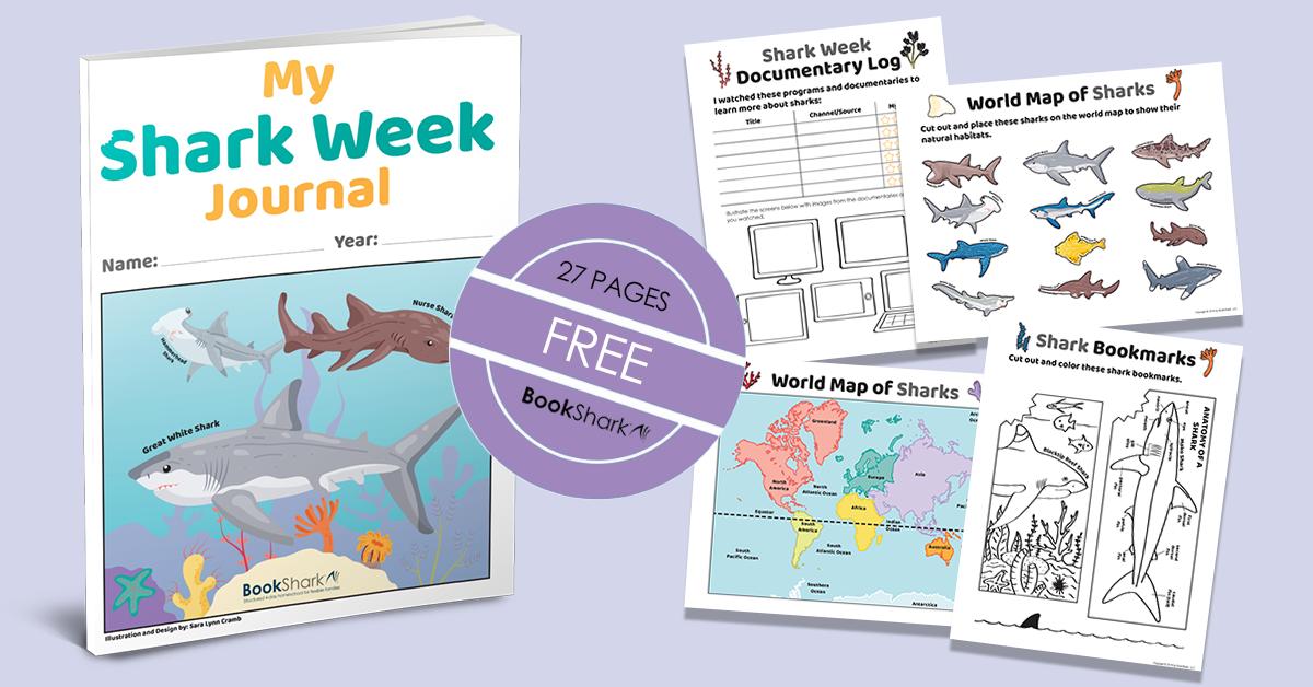 Shark Week Free Printable Journal