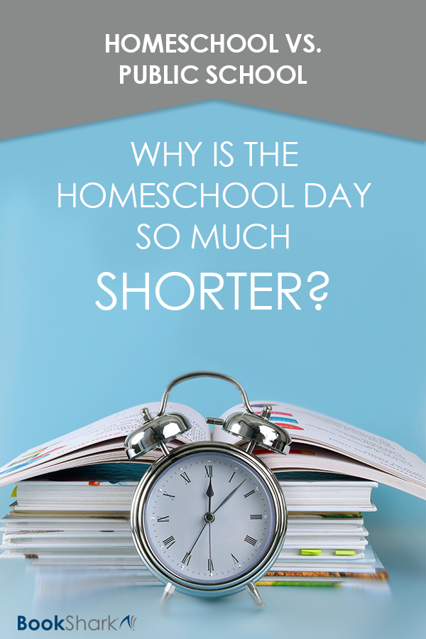 Why the Homeschool Day is So Much Shorter Than a Typical School Day