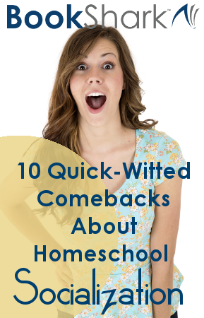 10 Quick-Witted Comebacks About Homeschool Socialization