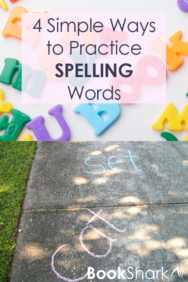 4 Simple Ways to Practice Spelling Words