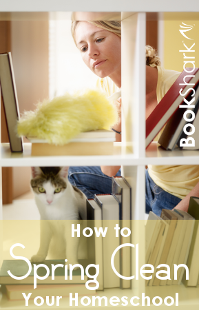 How to Spring Clean Your Homeschool