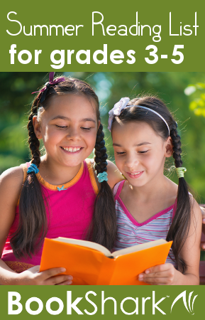 Summer Reading List for Grades 3-5