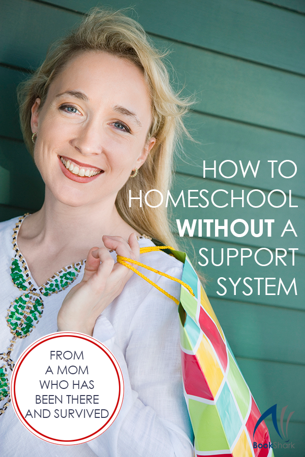 Homeschooling is hard. Worth it, but still hard. Sending your child to school has its challenges as well, and when I weighed the stresses on sending my kids to public school versus those of homeschooling, I chose the stresses of homeschooling.  Most of the time, I would say that the stresses are about equal, at least for our family size. Getting four little kids out the door and into the car five days a week for drop-off and pick-up? I shudder just thinking about it.  Our first year of homeschooling was wonderful, mostly because we were surrounded by close friends. Even though we never lived close to family, there were several people I trusted who I could call and ask to watch my kids when I needed a break. I also had a couple of local homeschool mom friends who I leaned on for asking advice or venting frustrations.  I underestimated the impact of losing that support system.