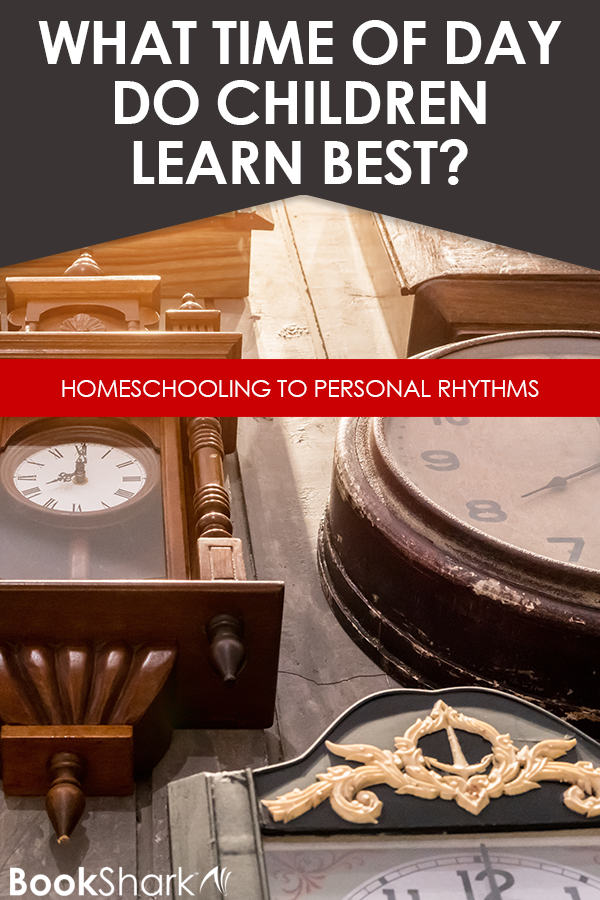 What Time of Day Do Children Learn Best? Homeschooling to Personal Rhythms