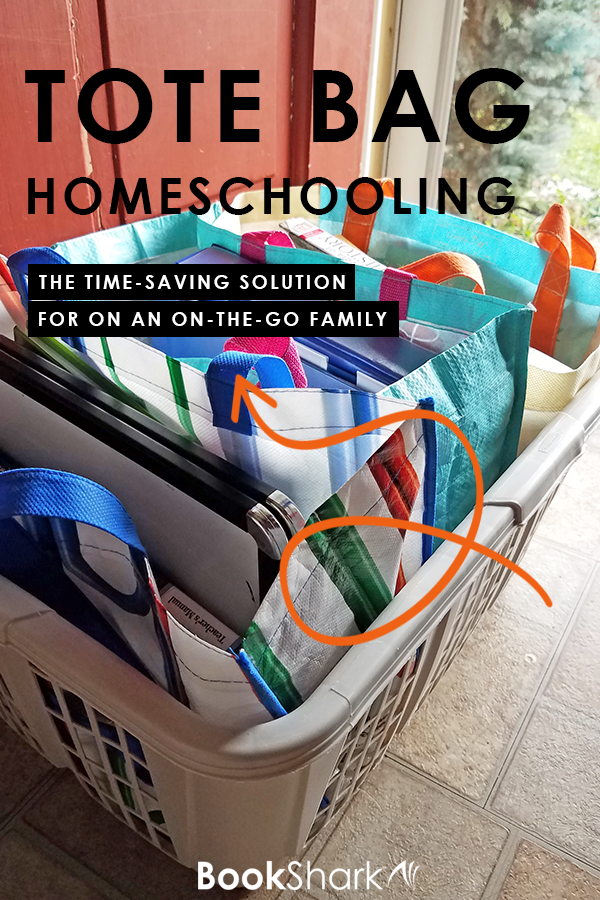 Tote Bag Homeschooling: The Time-saving Solution for an On-the-go Family