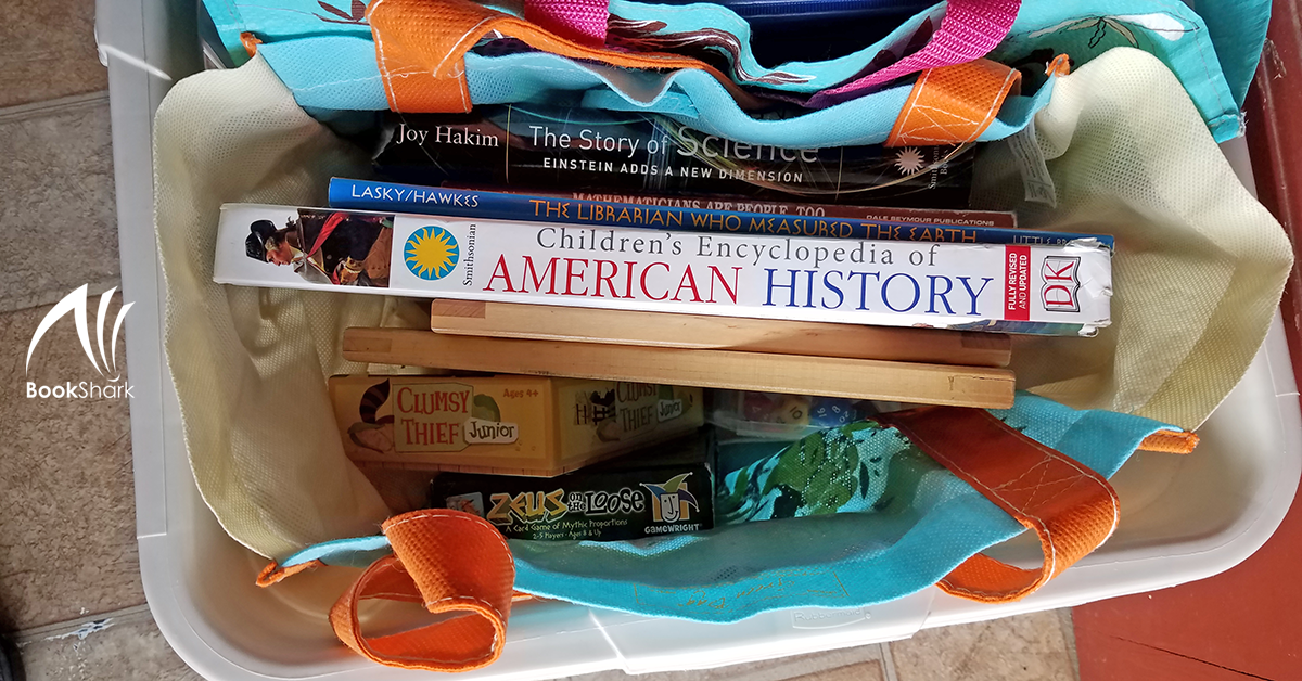 Tote Bag Homeschooling for On-the-go Homeschoolers