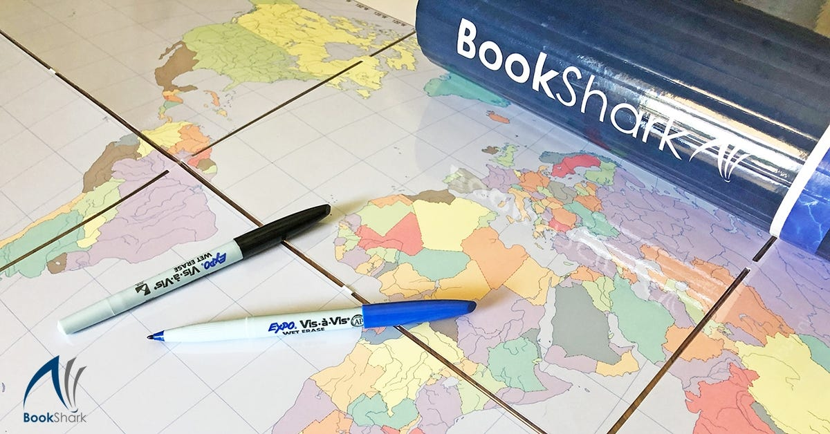25 Ways to Use a Markable Map for Homeschool Geography