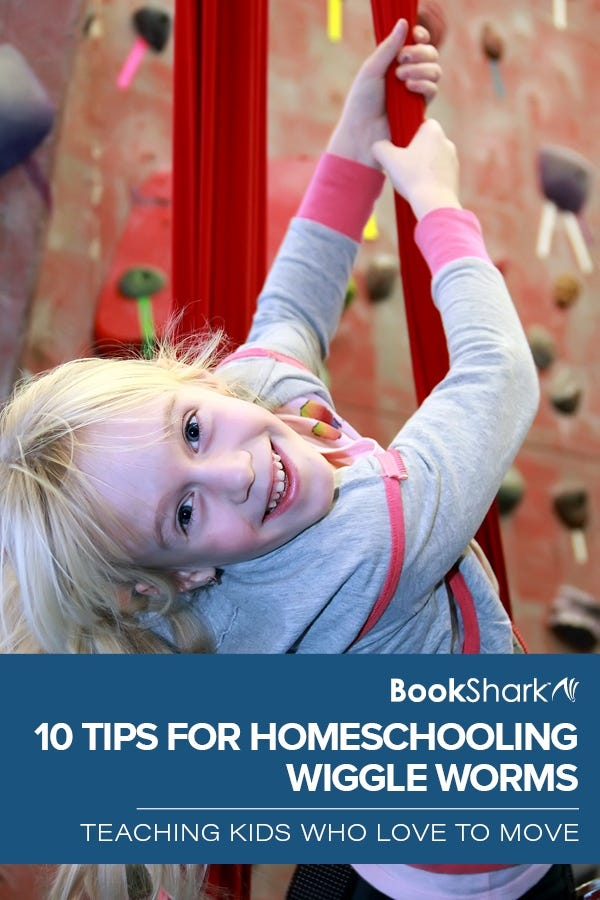 10 Tips for Homeschooling Wiggle Worms