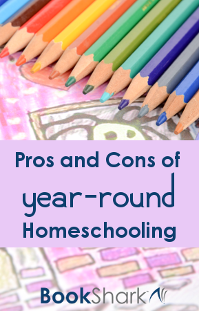 Pros and Cons of Year-Round Homeschooling